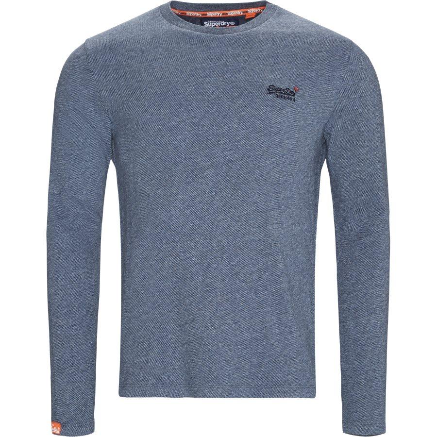 M6000 - M6000 LS Tee - T-shirts - Regular - BLÅ Q6R - 1